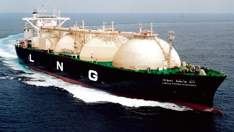 کشتی های حمل گاز