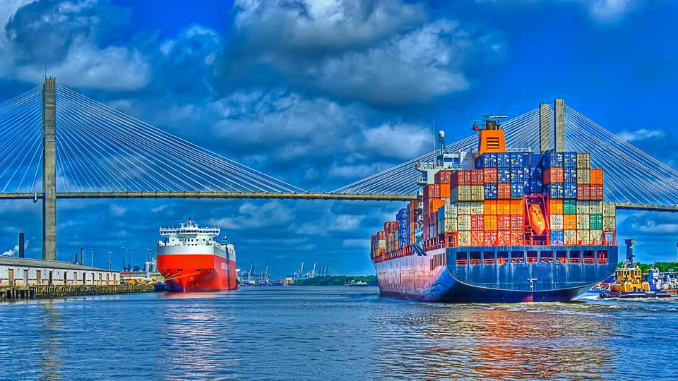 مراحل حمل و نقل دریایی