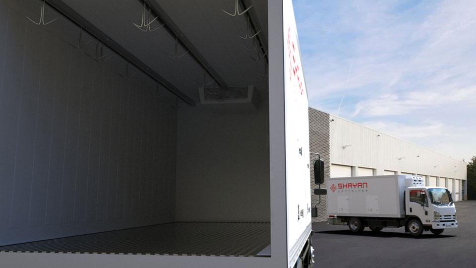 کامیون یخچال دار