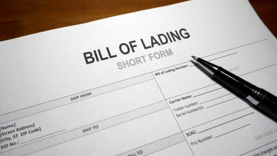 بارنامه – Bill of Lading