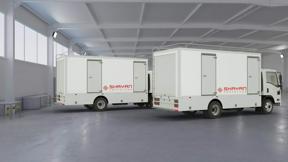 اتاق کامیون / آشپزخانه سیار