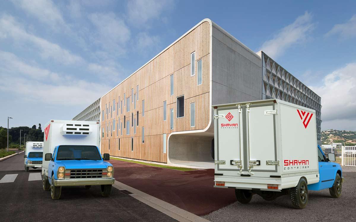 اتاق کامیون / یخچال دار (زیر صفری)